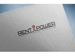 Логотип и фирменный стиль группы к. rent-power.ru