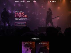 Сайт музыкальной групы