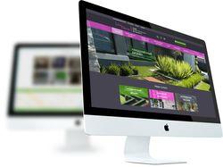 Сайт студии фитодизайна «LiveDecor»