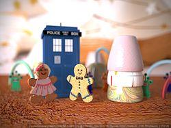 Печеньки- «Доктор кто?»