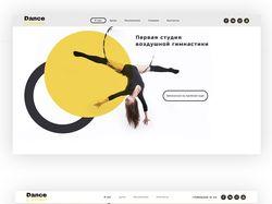 Landing Page ( Dance Circus )