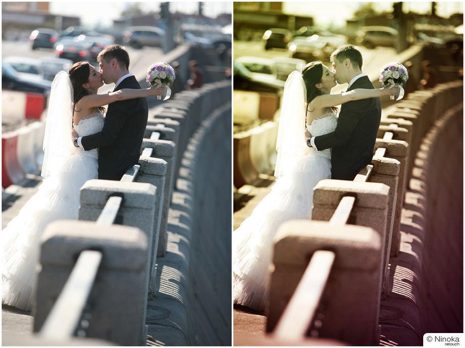 регулируйте самостоятельно, делегировать обработку свадебных фото это просто