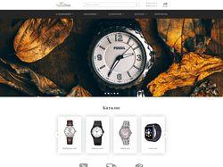 Дизайн интернет магазина, продажа часов