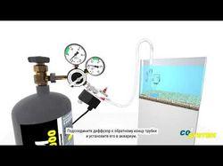 Видео инструкция по сборке систем CO2