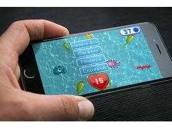 Опубликованное мобильное приложение Тыкалка