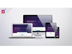 Сайт учебного центра Streamity