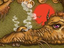 Блюзовый дракончик