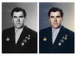 Оцветнение черно-белой фотографии