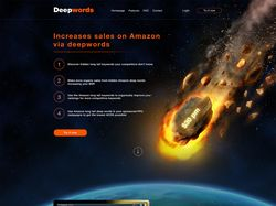 Landing page для софта Amazon