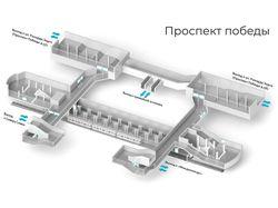 Интерактивные схемы Казанского метро