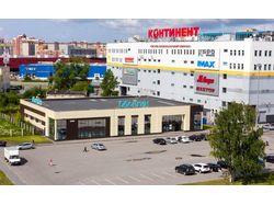 Фасад ТЦ Байконур (магазин Обойкин)