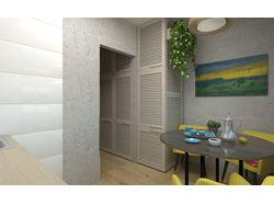 "Типичная - ""Нетипичная "" квартира. Кухня. Вид 3."