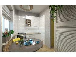 "Типичная - ""Нетипичная "" квартира. Кухня. Вид 2."