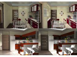 Дизайн квартиры, 3D визуализация