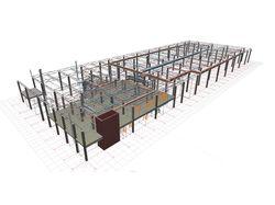 Сводный 3D план ОВ2(вентиляция) Лента г.Всеволожск