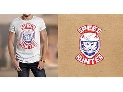Логотип для байкеров для печати на футболках