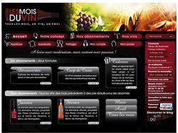 "Французкий интернет-магазин вин ""Les Mois du vin"""