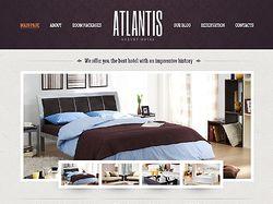 Сайт отель&мотель / Atlantis на WordPress