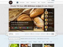 Сайт кулинарии / Cook на MODX