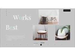IZZY Promo Page/ Производитель мебели