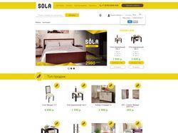 Интернет-магазин мебель