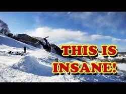 Экстремальное катание и прыжки на сноуборде
