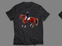 футболка конный спорт