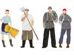 рабочие и колхозники ссср
