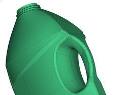 Дизайн бутылки для моющего средства.