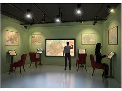 Визуализация концепта выставки