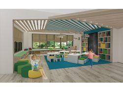 Дизайн игровой комнаты детского сада