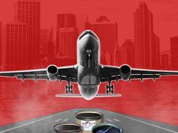 Баннер для гидроматериалов для самолетов