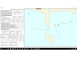 ShipACS Визуализация прокладки курса корабля