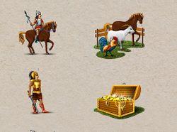 Юниты и объекты  для Игры. Вектор.