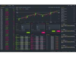 Макет биржи