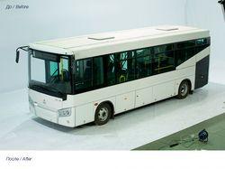 Фоторетушь автобуса