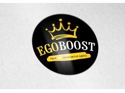 """Логотип для магазина обуви """"ЭгоБуст"""""""