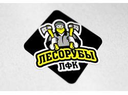 """Логотип для любительского футбольного клуба """"Лесор"""
