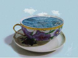 Море в чашечке