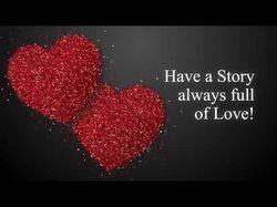 Анимация частиц - День Святого Валентина