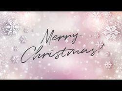 Симуляция рукописи - поздравление с Рождеством