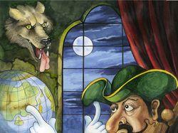 Иллюстрации к сборнику сказок