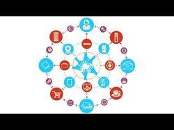 Видео инфографика блокчейн системы