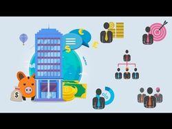 Видеоинфографика финансового пректа
