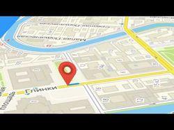 Анимация по карте, схема маршрута пути