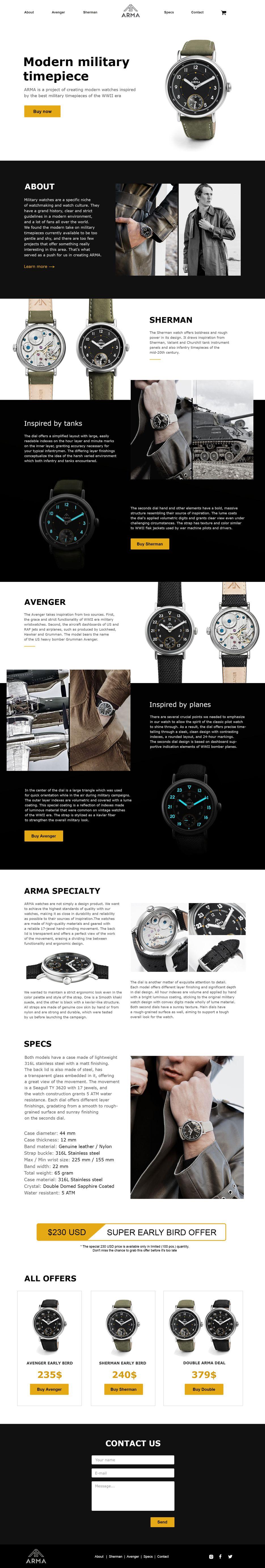 ARMA watch