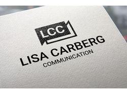 Персональный логотип публициста Лизы Карберг