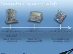 Компьютеры в современной жизни