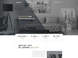 Дизайн сайта для компании производства фурнитуры