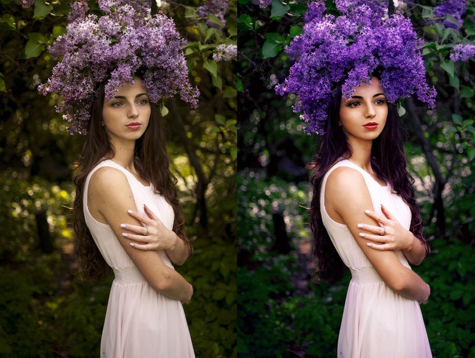 обработка фотографии в классическом стиле зато спустя